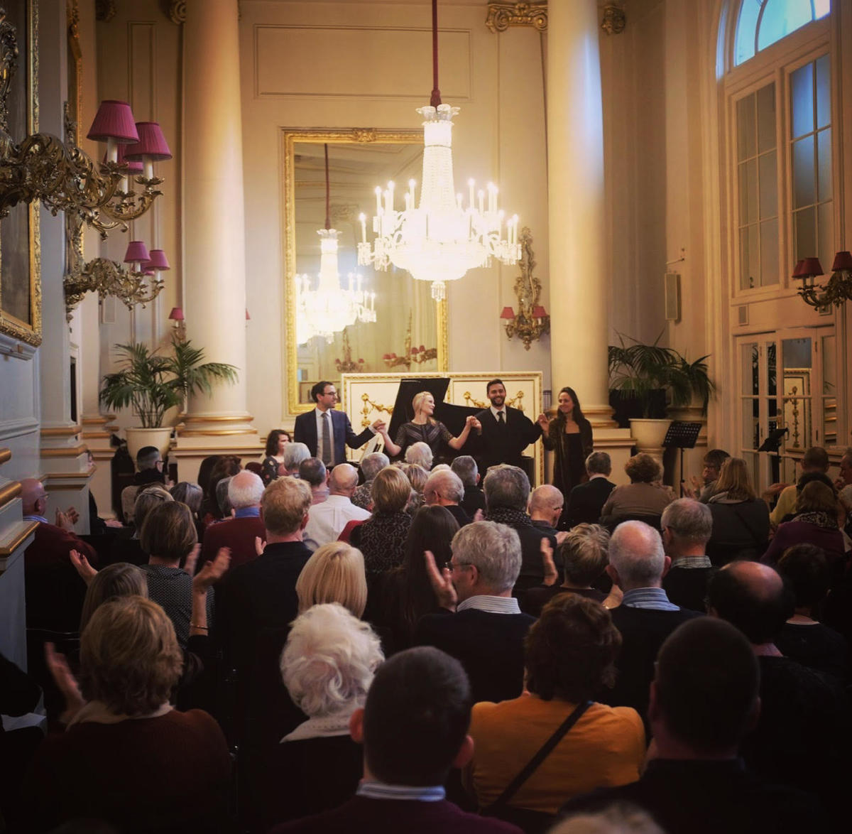 Lunchtime Recital at Royal Opera House Crush Room, January 2020