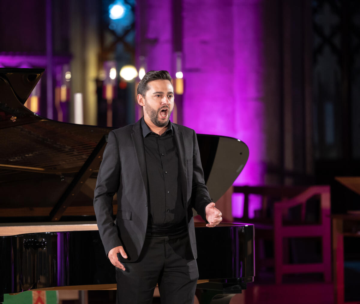 Credit: Stephen Boffey. Recital at St Albans Cathedral with Roderick Williams & Susie Allen, July 2021
